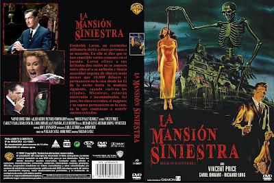 Carátula dvd: La mansión de los horrores | La mansión siniestra | La casa de la colina embrujada