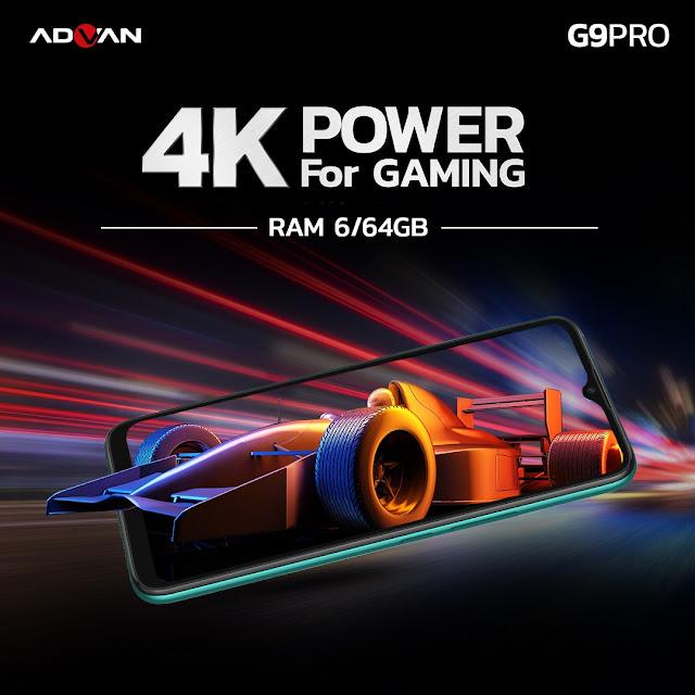 Kualitas Suara dan Jaringan ADVAN G9 Pro