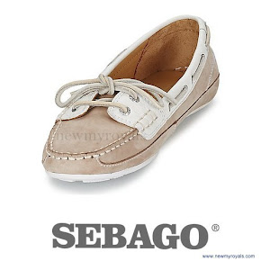 Kate Middleton wore Sebago Bala Boat Shoes