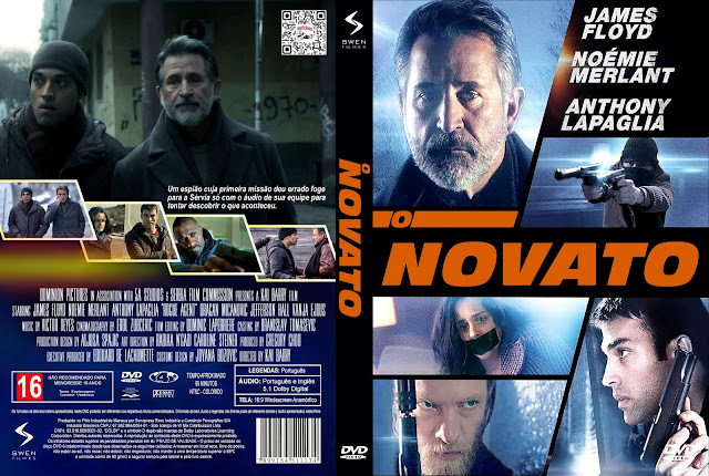 Capa DVD O Novato [Exclusiva]