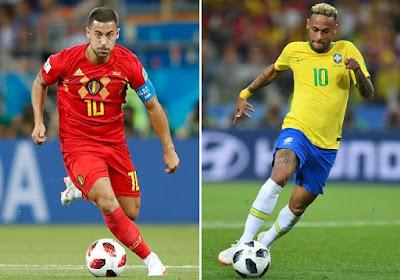 توقيت وموعد مشاهدة مباراة البرازيل وبلجيكا ضمن الدور الربع نهائي من كأس العالم بث مباشر
