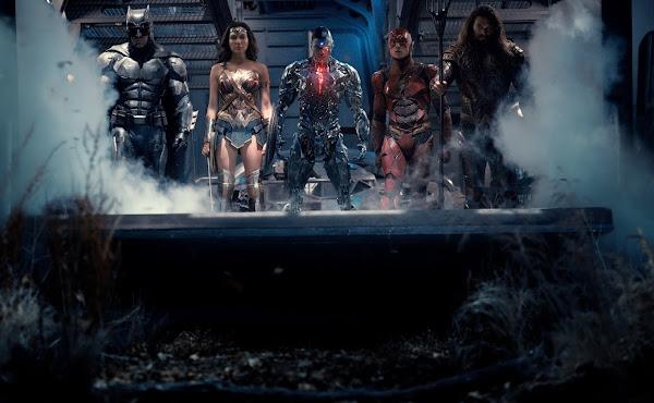 'Zack Snyder's Justice League': Duas novas imagens mostram Aquaman e heróis reunidos