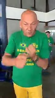 Mega empresario dono das lojas Havan, apos protesto precisou assinar um TCO na cidade de Pelotas no Rio Grande do Sul.