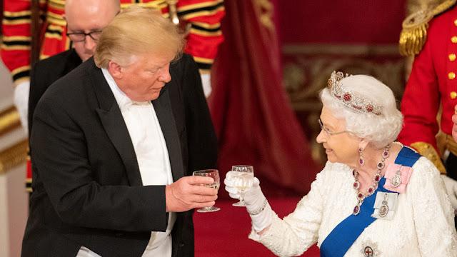 "Trump sobre Isabel II: ""La reina es una mujer fantástica"""