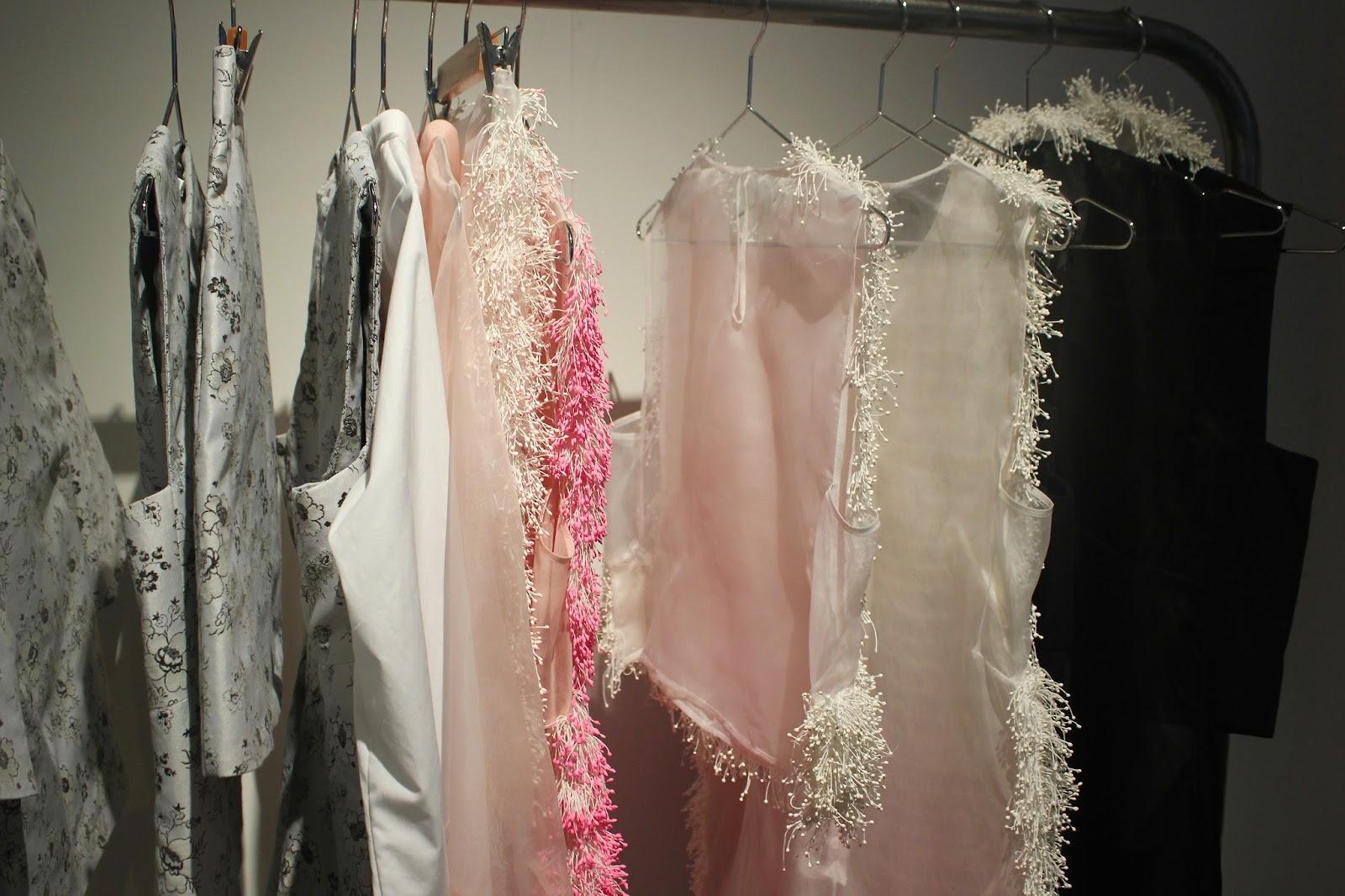 Georgie Minter-Brown, actress, blogger, london fashion week, designer showrooms, designer, clothes, fashion, cecilie bahnsen