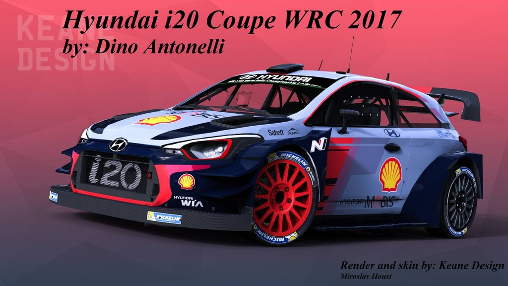 rbr hyundai i20 coupe wrc 2017. Black Bedroom Furniture Sets. Home Design Ideas