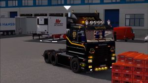 Truck - Scania 143m + V8 Sound