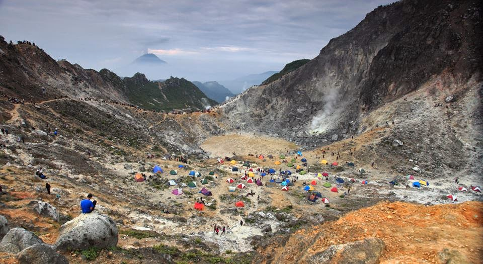 Image result for gunung Sibayak