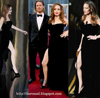 Hot Angelina Jolie's Leg is the Hype