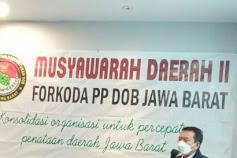 H.Syaiful Huda Membuka Musyawarah Pegiat Pemekaran Daerah SE Jawabarat