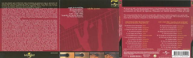 """JOSÉ ANTONIO DÍAZ CHAQUETÓN """"CÁDIZ JOVEN"""" 1999 UNIVERSAL REEDICIÓN DE SU PRIMER DISCO"""