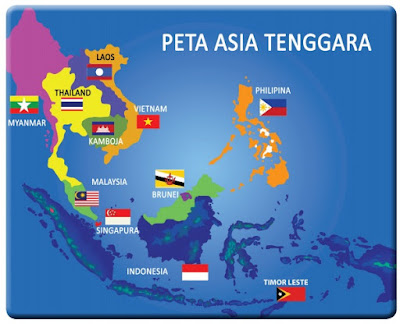 Peta Asia Tenggara www.simplenews.me