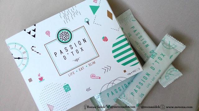 Passion D'Tox Menyingkirkan Lemak Dan Toksin Degil