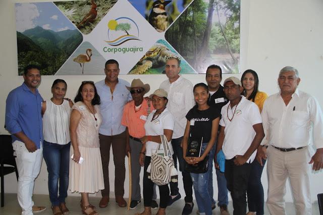 Corpoguajira acompañó a empresarios en la Feria de Negocios Verdes Bioexpo