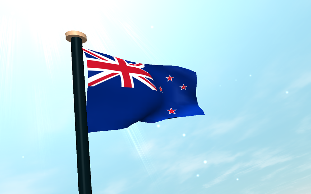 Graafix Flag Of New Zealand