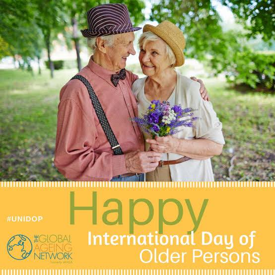 International Day of Older Persons Wishes Lovely Pics
