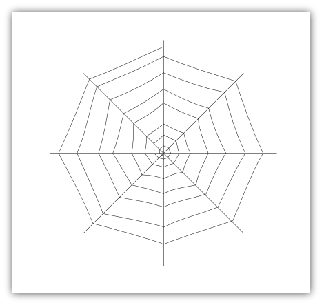 Imaginesque: Spider's Web Pattern