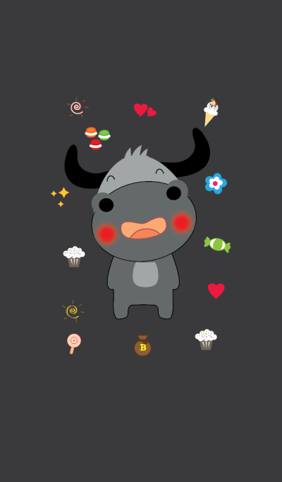 Cute buffalo theme v.2 (JP)