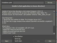 PES 2017 DLC 2.0 + Mod Khusus Kerak