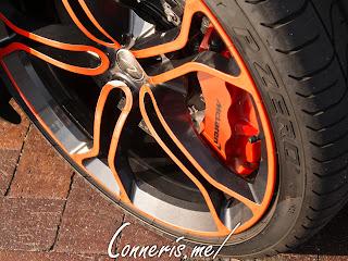McLaren 12C Wheel Detail