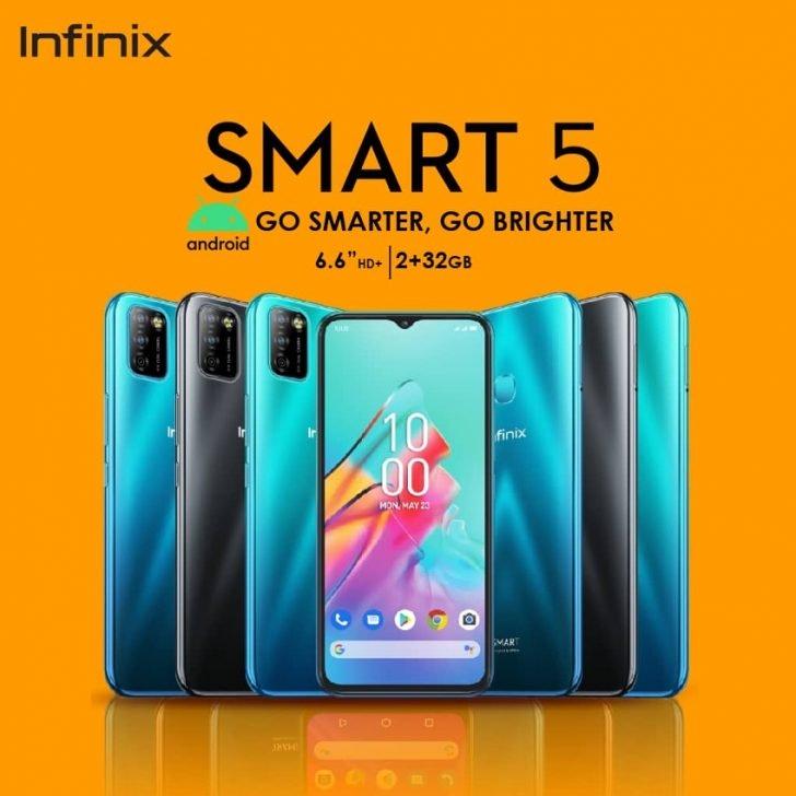 Infinix Smart 5 prix Maroc