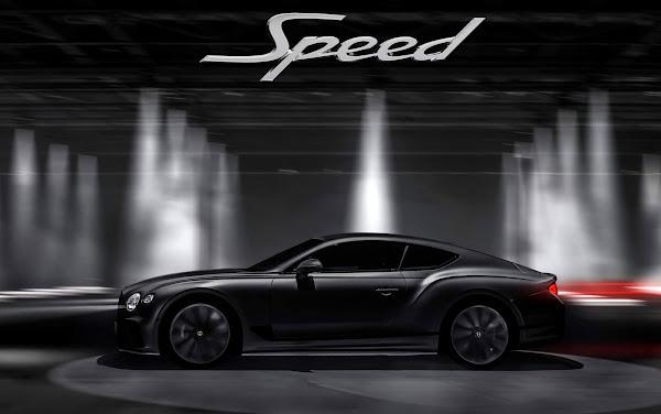 Novo Bentley Continental GT Speed W12 6.0L: lançamento dia 23