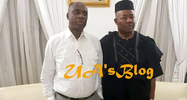 Revealed! Real Reasons Why Akpabio And Amaechi Reconciled