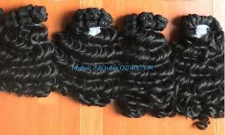 Vietnamese wavy weft hair extensions super double