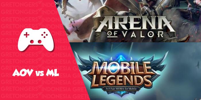 Arena of Valor VS Mobile Legends, Mana yang Terbaik ?