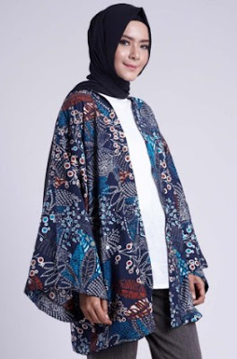 Permalink to 30+ Model Baju Muslim Batik Kombinasi Untuk Wanita Modern Terbaru 2018