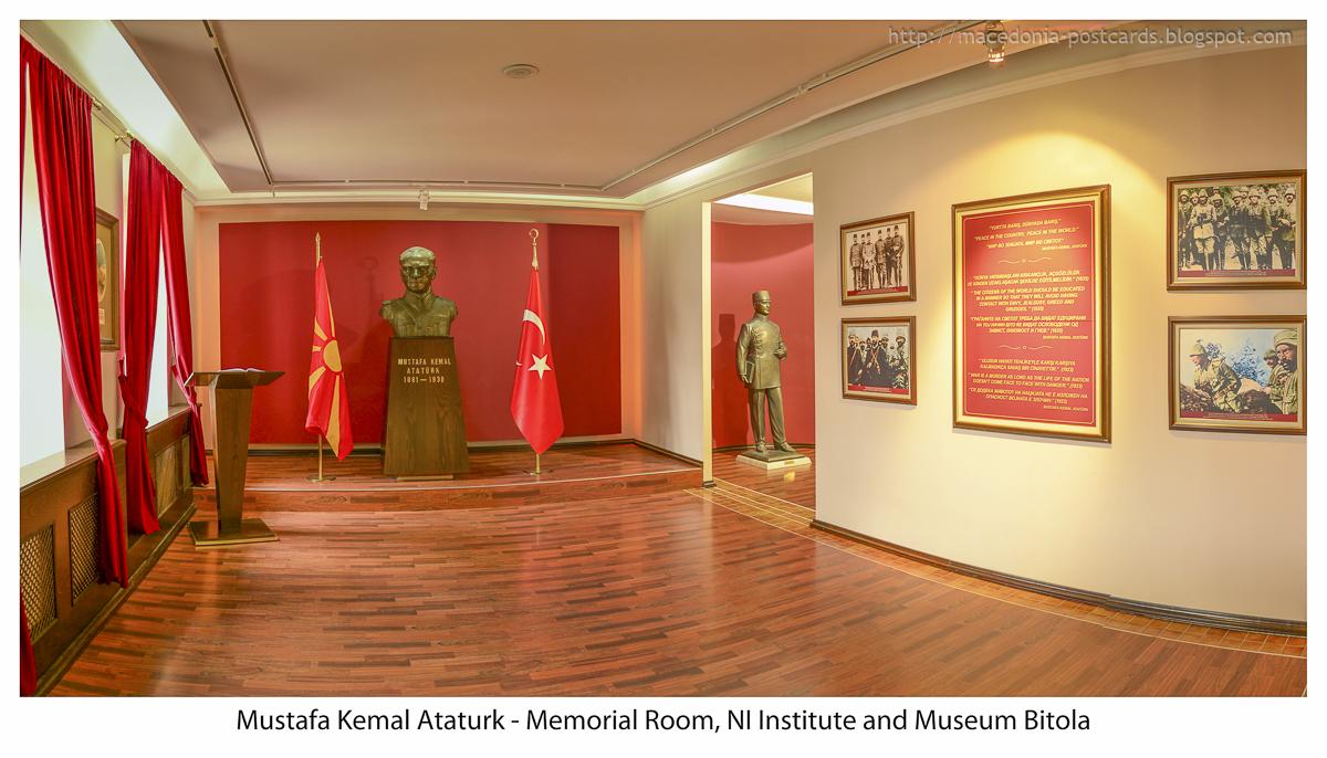 Mustafa Kemal Ataturk Memorial Museum in Bitola ...