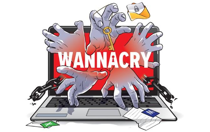 Delete/Hapus Virus Ransomware Wannacry