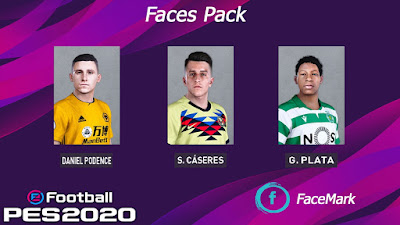 PES 2020 Facepack 4 by Mark