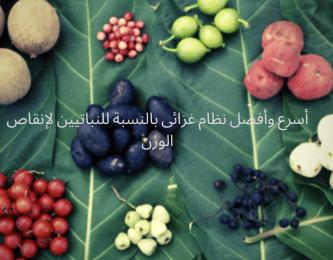 """أسرع وأفضل نظام غزائى بالنسبة للنباتيين لإنقاص الوزن """"أكل جيدًا"""""""