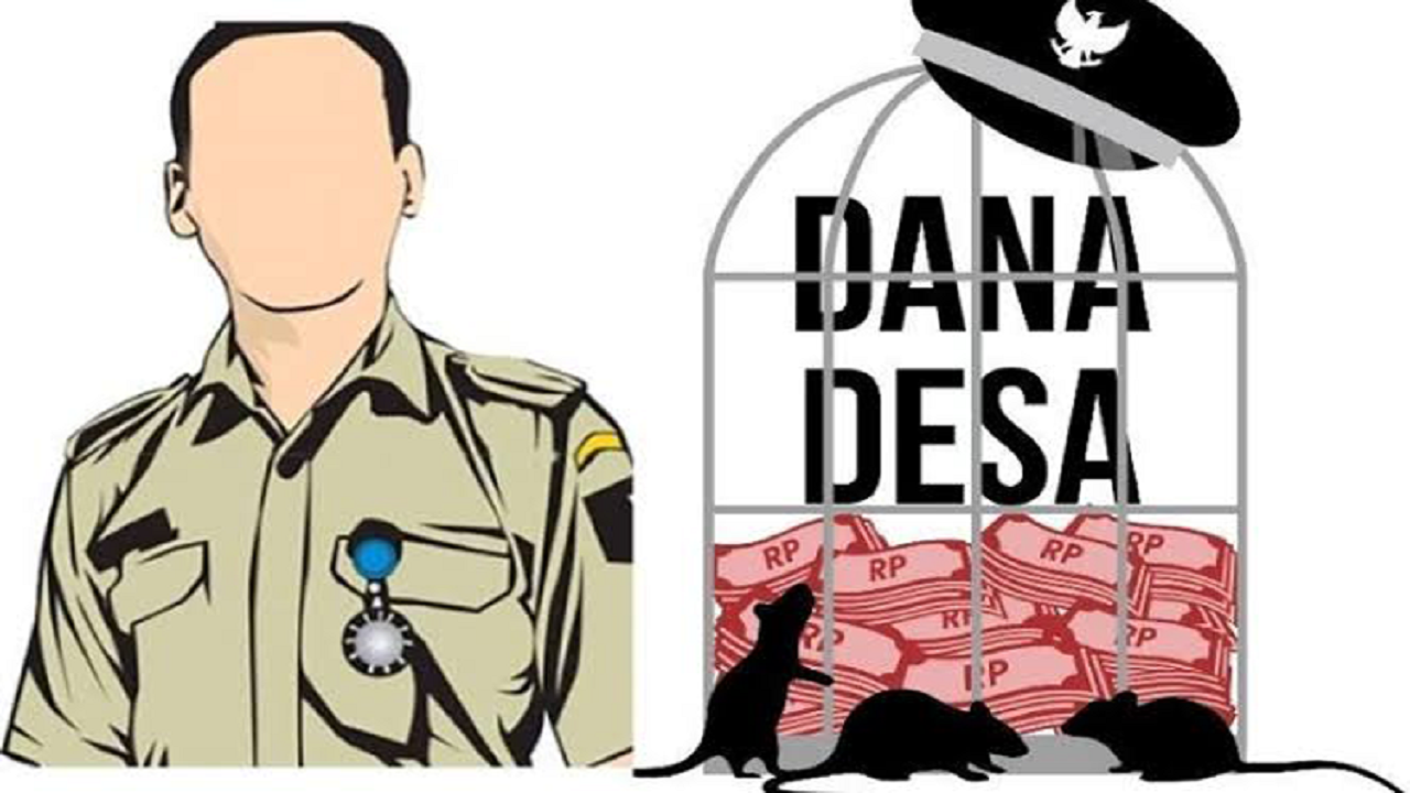 Korupsi Dana Desa Ilustrasi