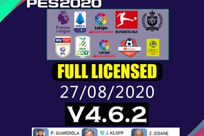 PATCH PES 2020 FULL LICENSED | IDSPHONE V4.6.2
