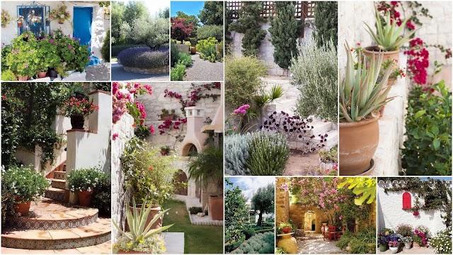 Μεσογειακός Κήπος: Στοιχεία, υλικά και προτάσεις για την διαμόρφωσή του