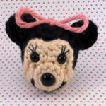 patron gratis minnie mouse amigurumi | free pattern amigurumi minnie mouse