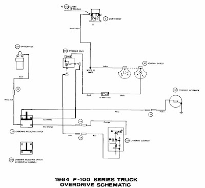 1950 ford overdrive wiring diagram