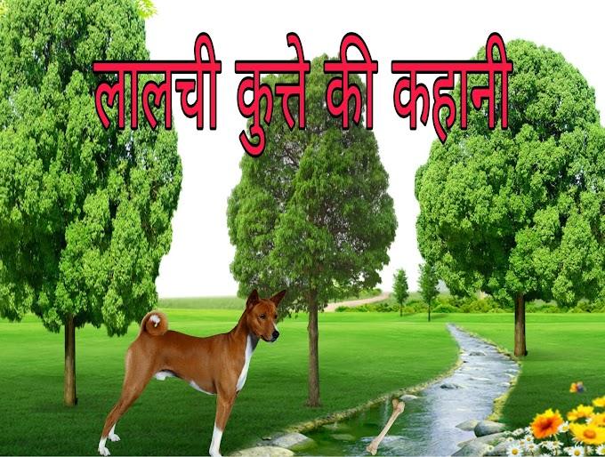 लालची कुत्ते की कहानी | Lalchi Kutta aur Haddi ki kahani