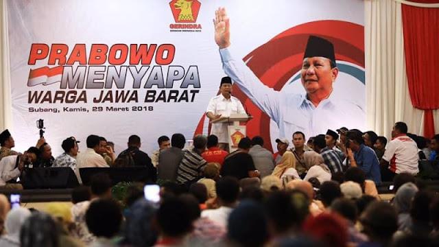 Prabowo: Jika Diberi Amanah, Saya Akan Rebut Kekayaan RI untuk Rakyat