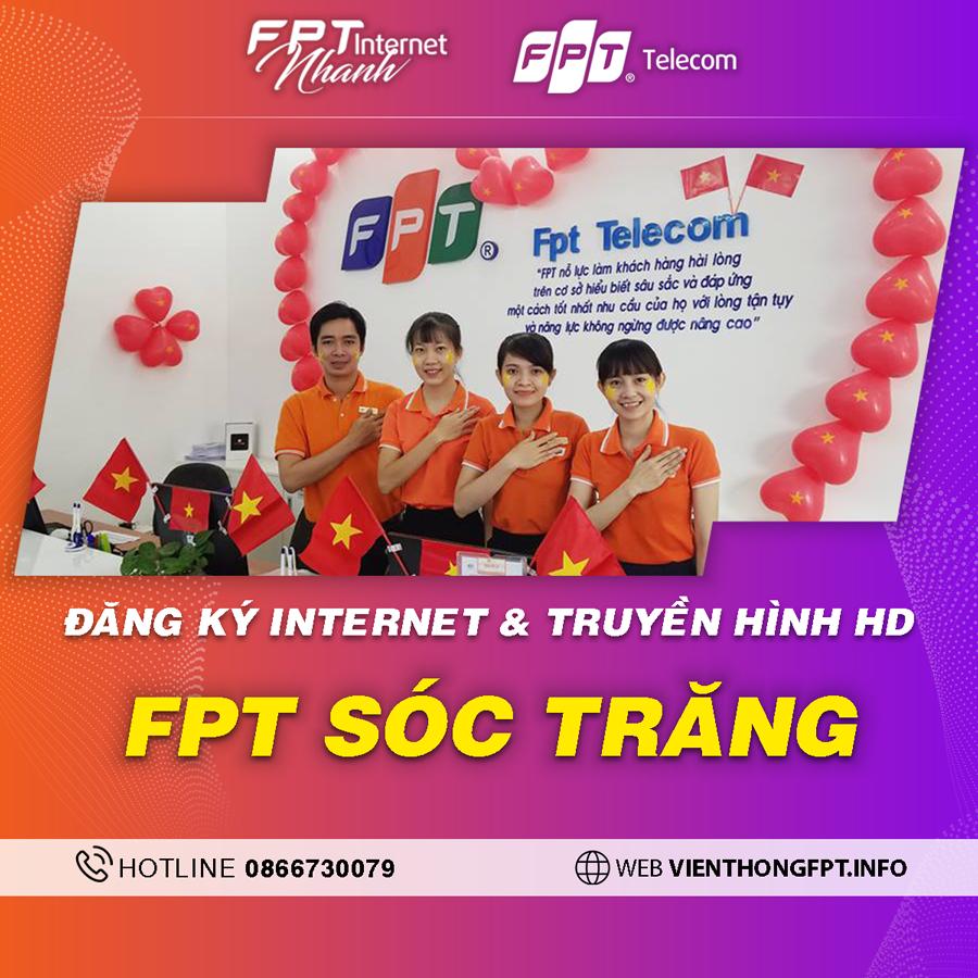 Chi nhánh FPT Sóc Trăng - Tổng đài lắp mạng Wifi + Truyền hình FPT