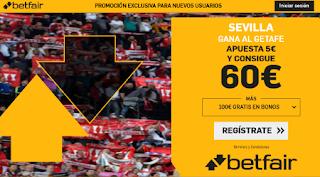 betfair supercuota 12 Sevilla gana Getafe 27 octubre 2019