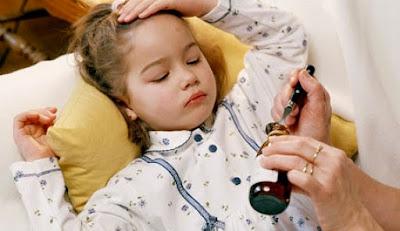 5 enfermedades comunes en los niños.