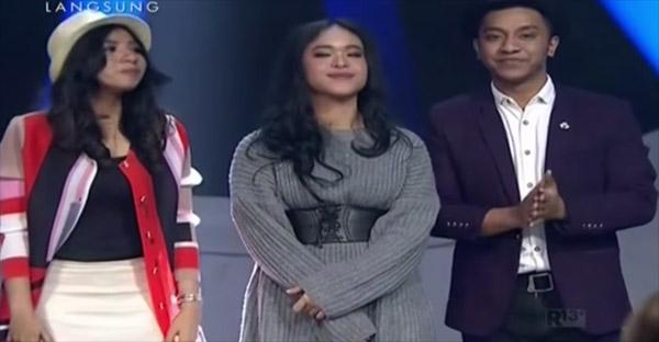 yg tereliminasi indonesian idol tadi malam 12 besar