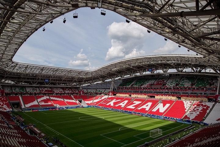 Kazan Arena, Stadion Piala Dunia 2018
