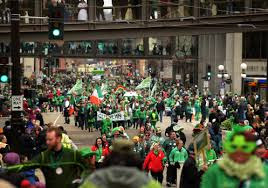 St Patrick's Day 2018 Parade TIming