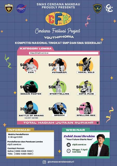 Cendana Festival Project 𝙔𝙊𝙐𝙏𝙃𝙋𝙃𝙊𝙍𝙄𝘼 2021