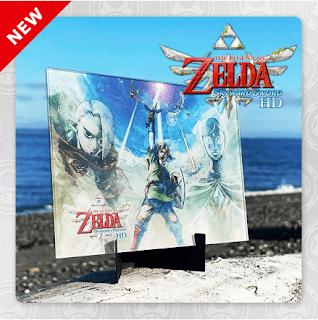 Free, The Legend of Zelda™: Skyward Sword HD Acrylic Panel Art