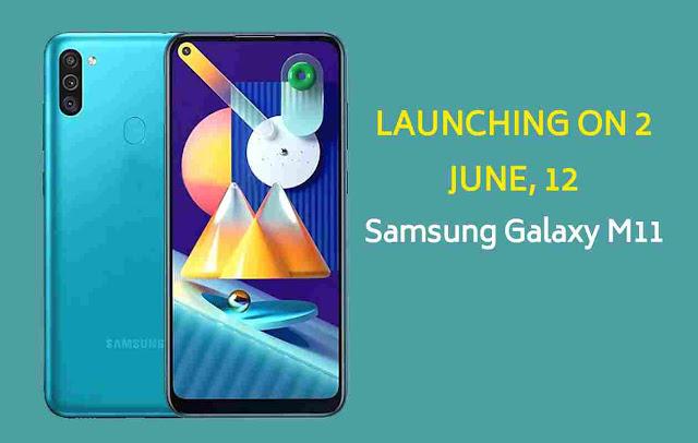 Samsung Galaxy M11 Display